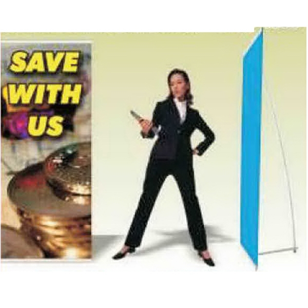 Banner Stand - Collapsible banner stand with aluminum frame and full color graphics.