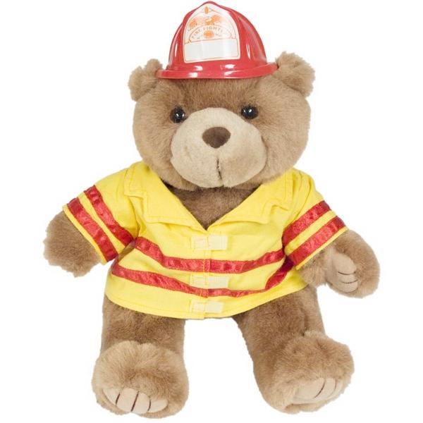 "12"" Fireman Bear"