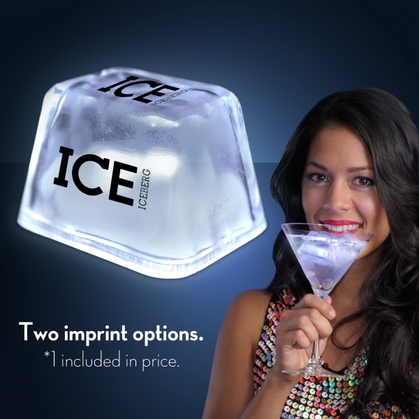 White Inspiration Ice LED Cubes