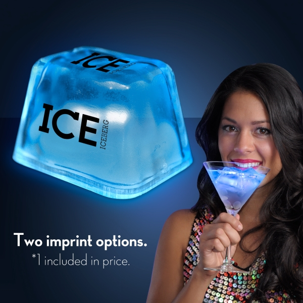 Blue Inspiration Ice LED Cubes