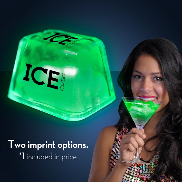 Green Inspiration Ice LED Cubes