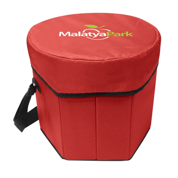 Folding Portable Game Cooler - Folding portable game cooler made of 210 Denier Nylon.