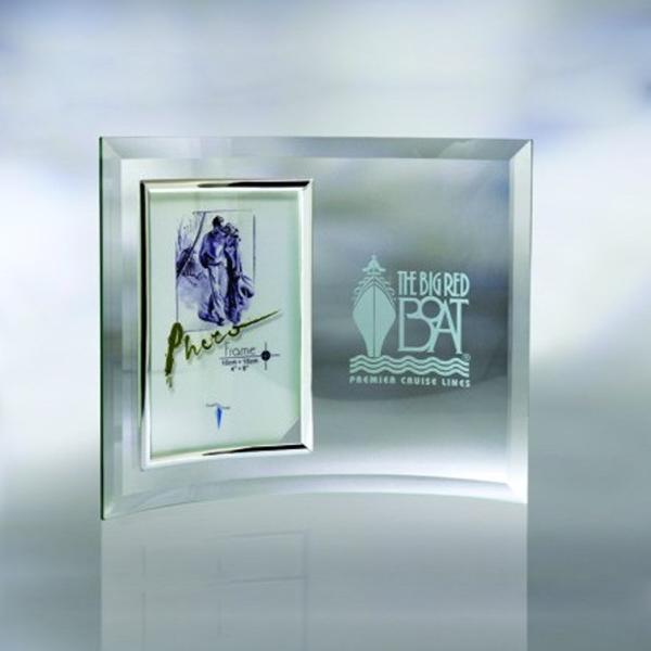 "Award-Curve Beveled Picture Frame 7-1/4"""