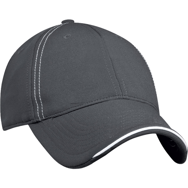 Structured, Spandex Stair Twill Cap