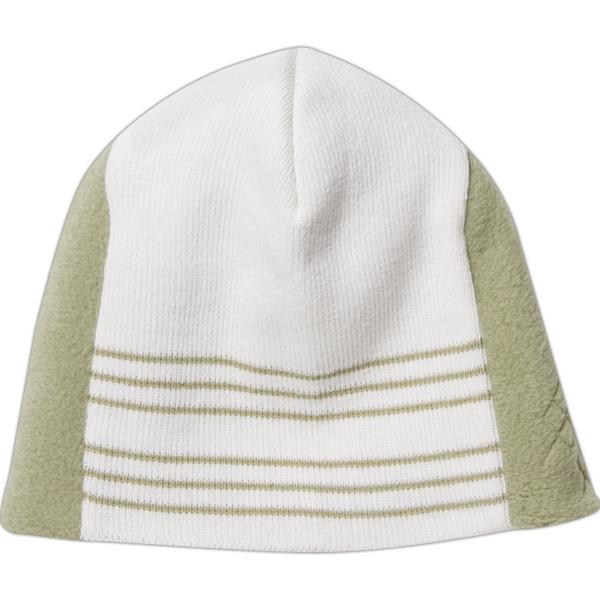 Fine Knit Argyle Beanie with Polar Fleece Inserts