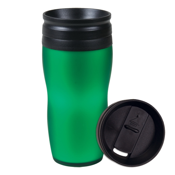Soft Touch - 16 Oz Silky Smooth Tumbler With Spill Proof Lid Photo