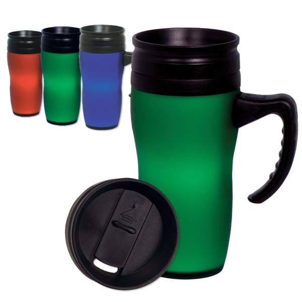 Soft Touch - 16 Oz. Durable Mug With Large Easy Grip Handle Photo