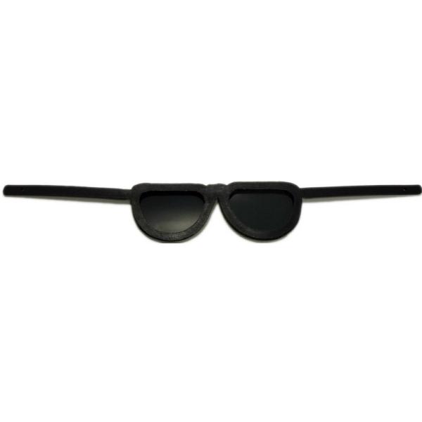 "12"" Sunglasses Toy Accessory - Black (Flexible Frame)"