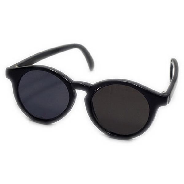 "12"" Sunglasses Toy Accessory - Black (Rigid Frame)"