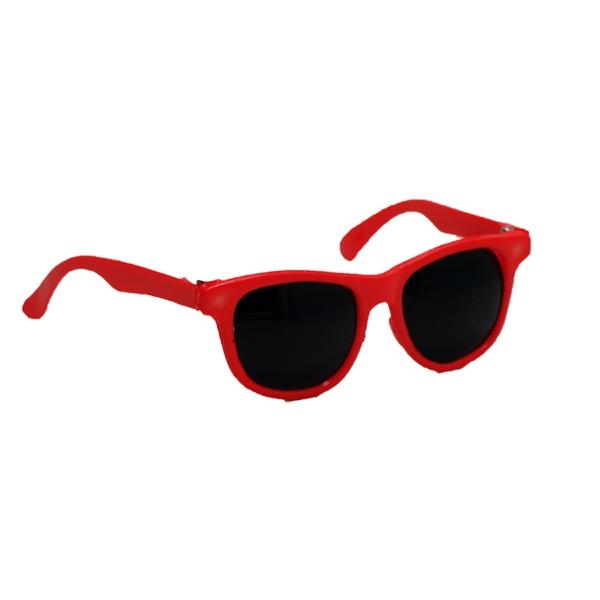 "12"" Orange Sunglasses Toy Accessory - Rigid Frame"