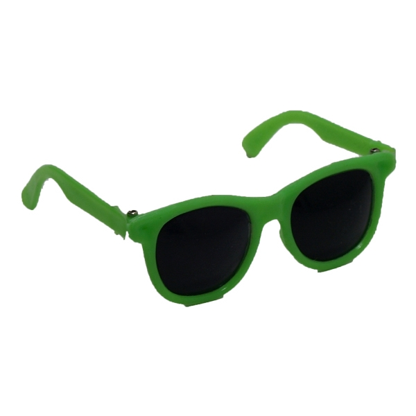 """12"""" Sunglasses Toy Accessory - Green Frame"""