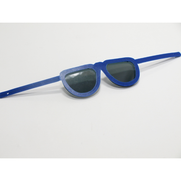 """12"""" Royal Blue Sunglasses Toy Accessory - Flexible frame"""