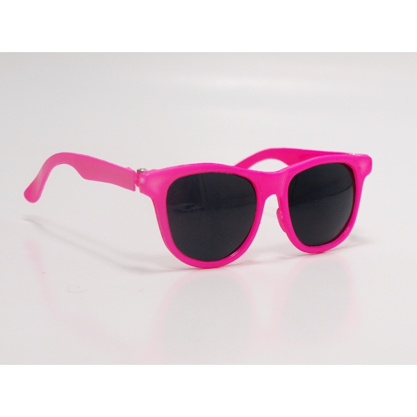 """12"""" Hot Pink Sunglasses Toy Accessory - Rigid frame"""