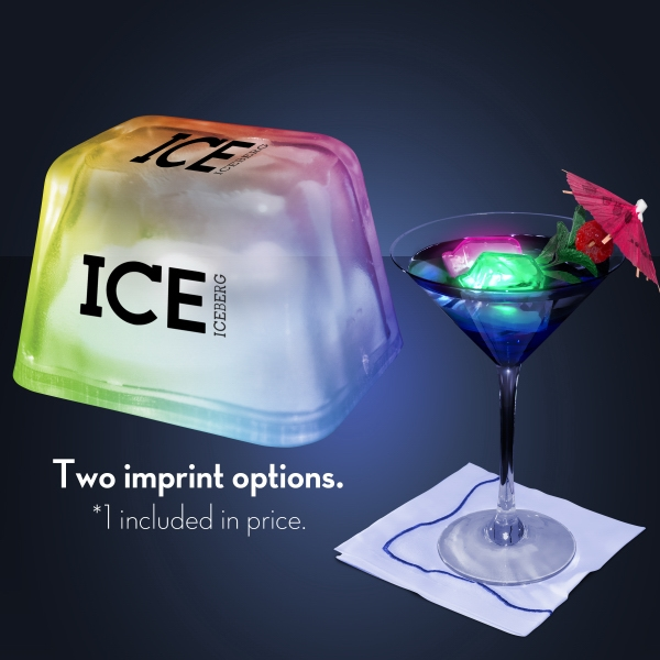 Inspiration Ice Multicolor Lighted Ice Cubes