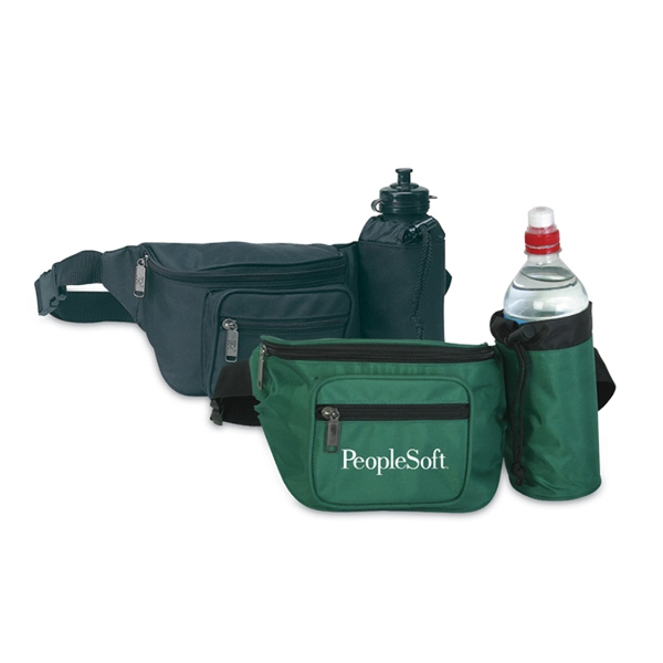 Fanny Pack with water bottle holder