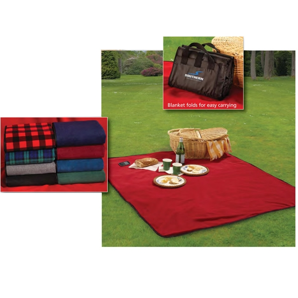 Fleece / Nylon Picnic Blanket