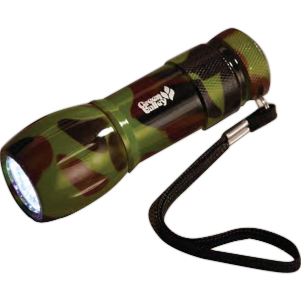Illuminate - Camouflage 9 Led Flashlight Photo