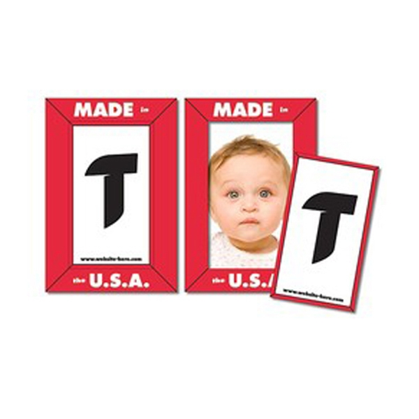 "Tuffmag (tm) - Magnet - Picture Frame 4.25"" X 6.25"" - Outdoor Safe Photo"