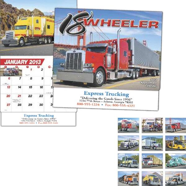 18-Wheeler appointment calendar