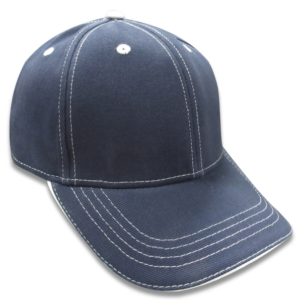 Reebok (r) - Navy - 100% Polyester, Structured, Mid Profile 6-panel Baseball Cap. Opportunity Buy Photo