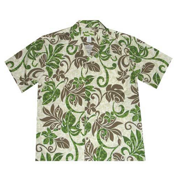 Hawaiian Tropical Print Shirt