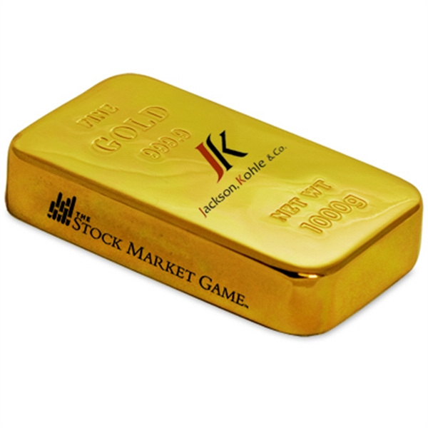 Gold Bar Paperweight Photo
