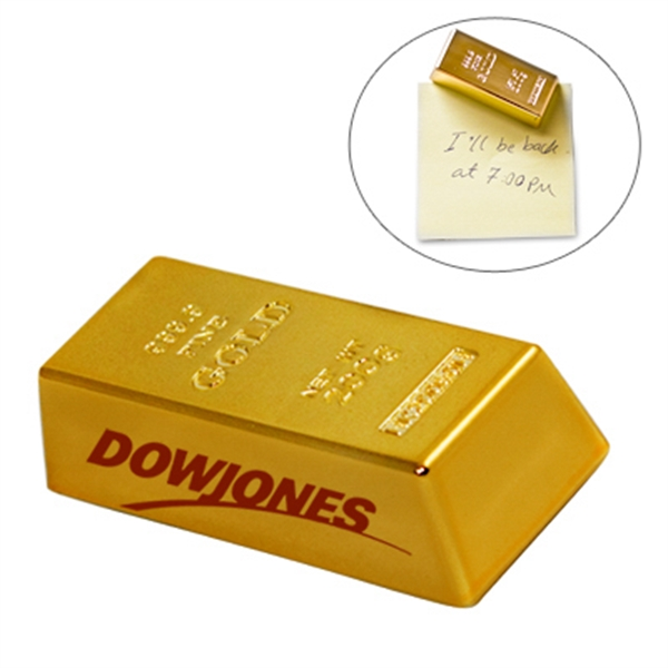 Mini Gold Bar Paperweight/magnet Photo