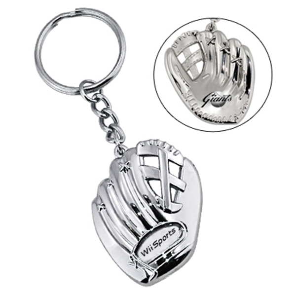 Baseball Glove Shaped Key Chain Photo