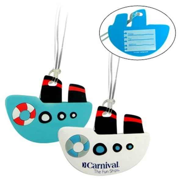 Boat Shaped Luggage Tag Photo