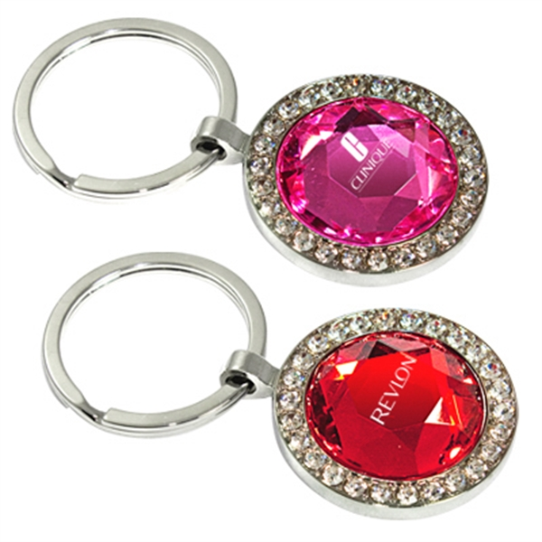 Round Shaped Jewelry Key Chain Photo