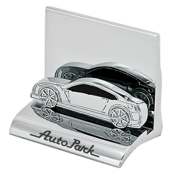 Car - Chrome Metal Business Card Holder Photo