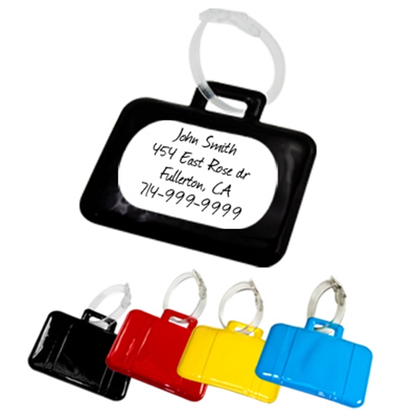 Suitcase Shaped Luggage Tag Photo