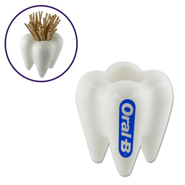 Tooth Shape Toothpick Holder Photo