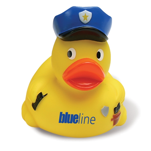 Policeman Rubber Duck Photo