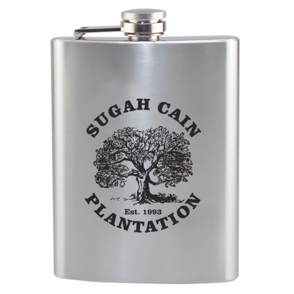 Stainless Flask, 8 Oz. 2 Day Quickship Photo
