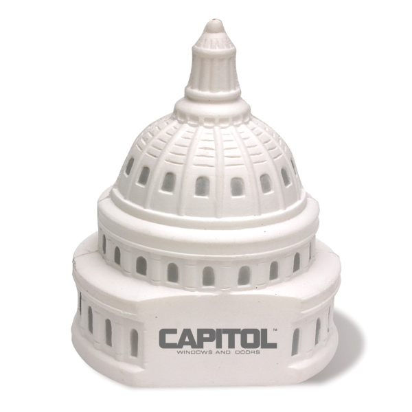 Capitol Dome Shaped Stress Reliever Photo