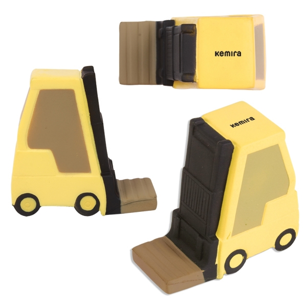 Hi-low Forklift Shaped Stress Reliever Photo