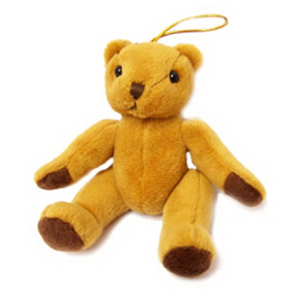 """6"""" Kwon Bear with Ornament Hook"""