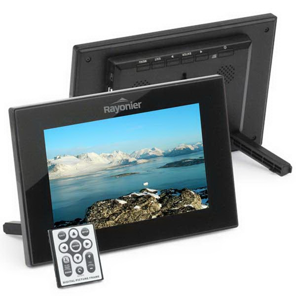 "7"" Digital Frames. Built In 256mb Memory. Resolution 800x480. Play Video And Mp3 Photo"