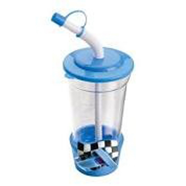 Sipper - Race Car Novelty Drink Cup Is A Fun And Attractive Promotional Item Photo