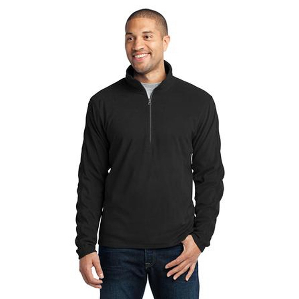 Port Authority (r) -  X S- X L - Microfleece 1/2 Zip Pullover Jacket. Great For Errands Or Exercise Photo