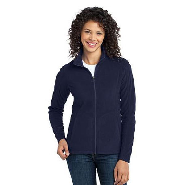 Port Authority (r) -  X S- X L - Ladies' Cool Weather Microfleece Jacket With Contoured Silhouette Photo