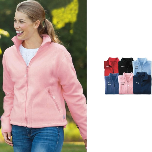 2 X L - Ladies' Micro-fleece Jacket With Fully-lined Sleeves Photo
