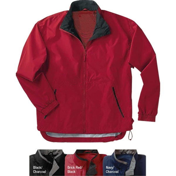 3 X L - Windproof And Water Resistant, Brushed Microfiber Mid-length Jacket Photo