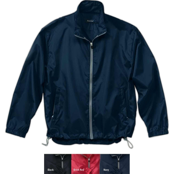 S- X L - Lightweight Polyester Jacket With Adjustable Drawstring Hem Photo