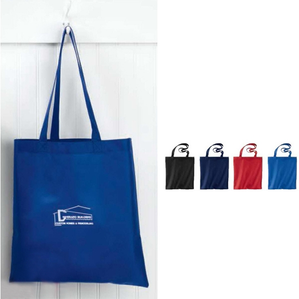 "Non-woven Tote Bag With Self-fabric 24"" Handles Photo"