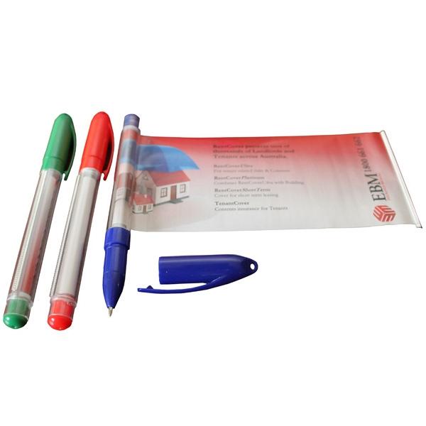 Banner Pen - Gel Tip w/Cap
