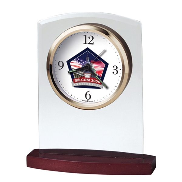 Marcus - Alarm Clock Features A Polished Gold-tone Bezel And Custom Dial Photo