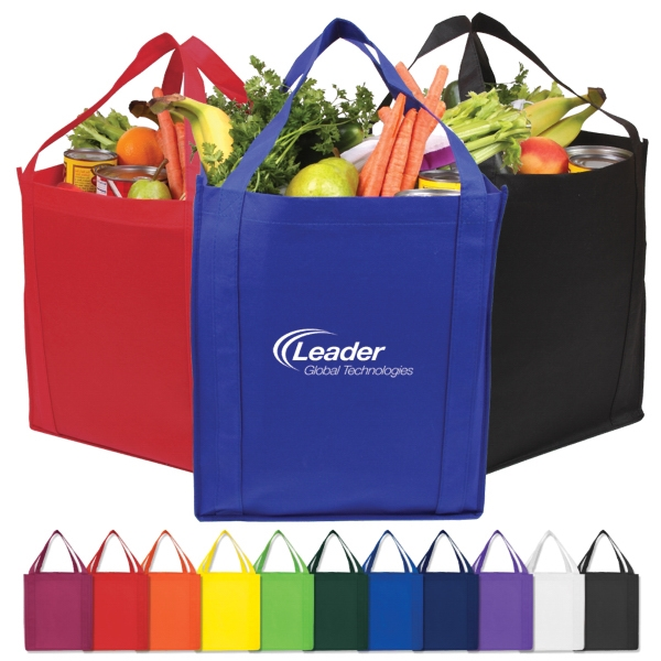 Lightweight Durable And Eco Friendly Non-woven Market Tote Photo