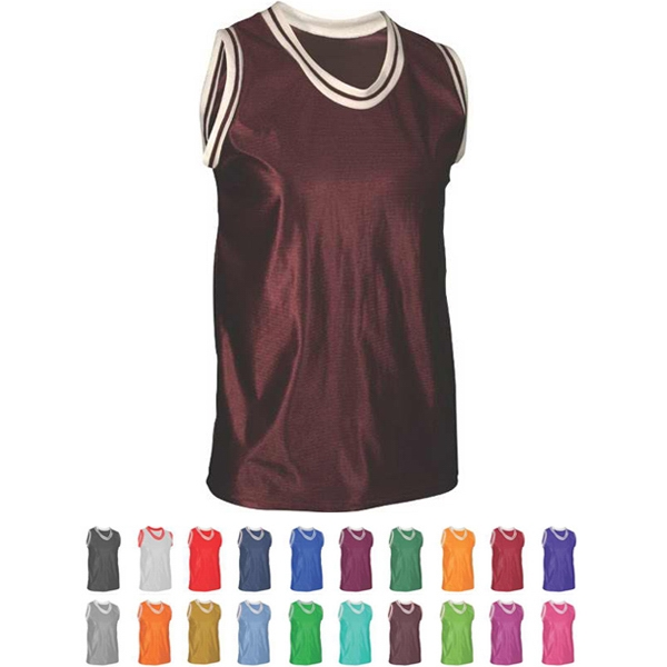 Adult,Youth & Women Tank Top with Trim
